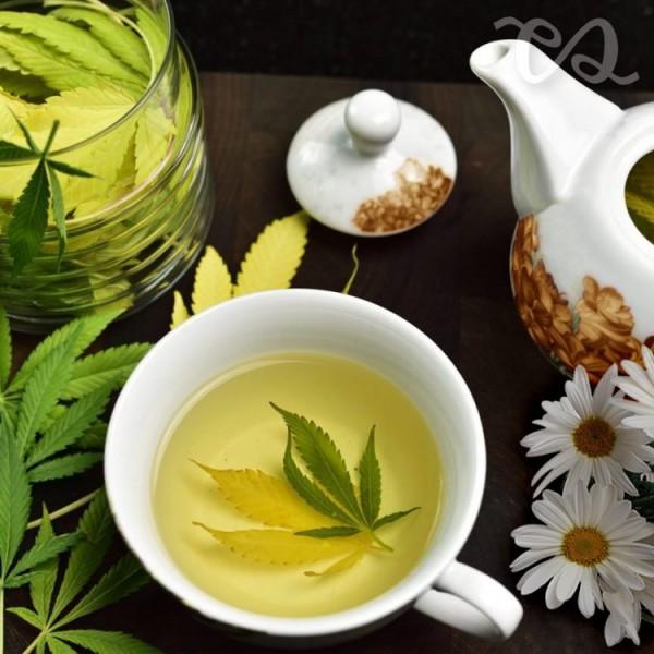 Cannabis Chamomile Tea Blend