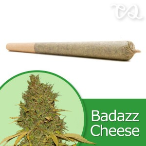 Badazz OG Cheese Pre-Rolled Cone